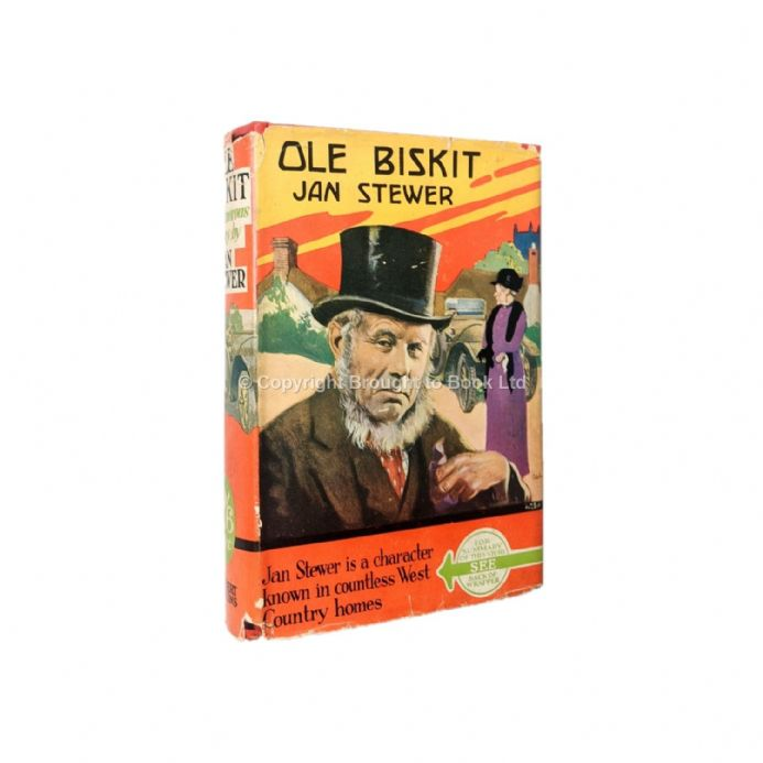 Ole Biskit by Jan Stewer First Edition Herbert Jenkins 1933